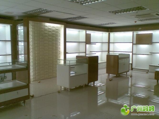 150平方高档化装品展厅装修效果分享