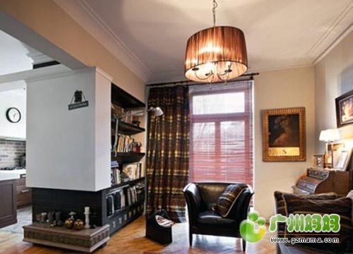 优雅的英式复古装修,入墙间隔书柜 入门书柜严重长草 装修家居