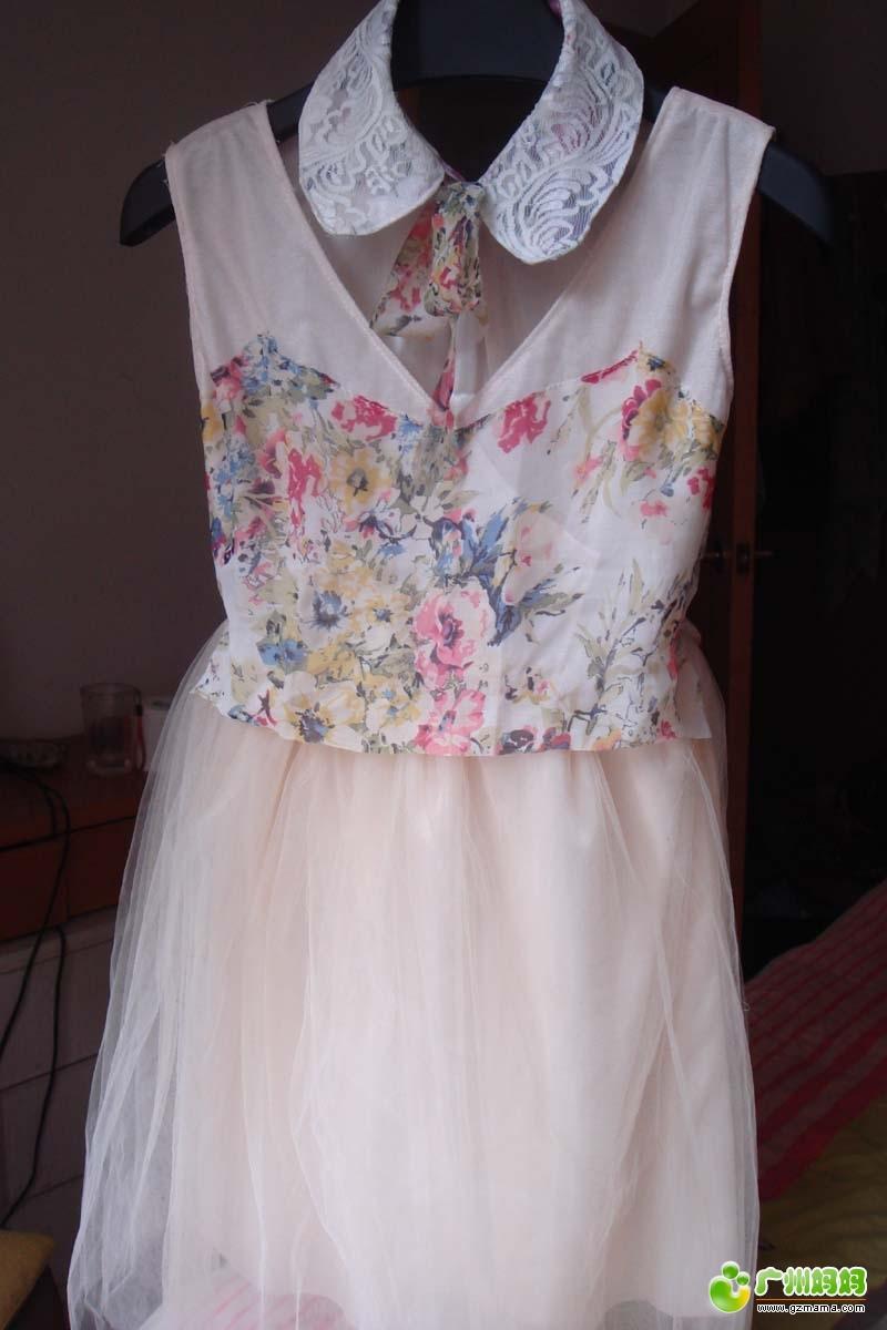 全职妈妈DIY童装蕾丝裙