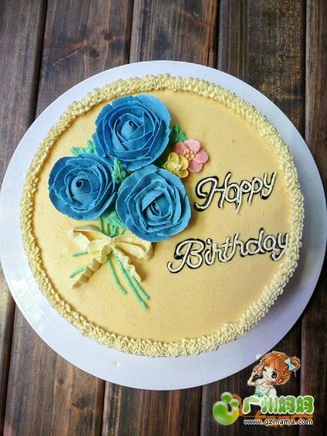 黄桃慕斯蛋糕图片
