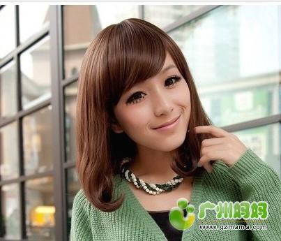胖脸女生适合的发型,轻松减龄瘦脸 图片