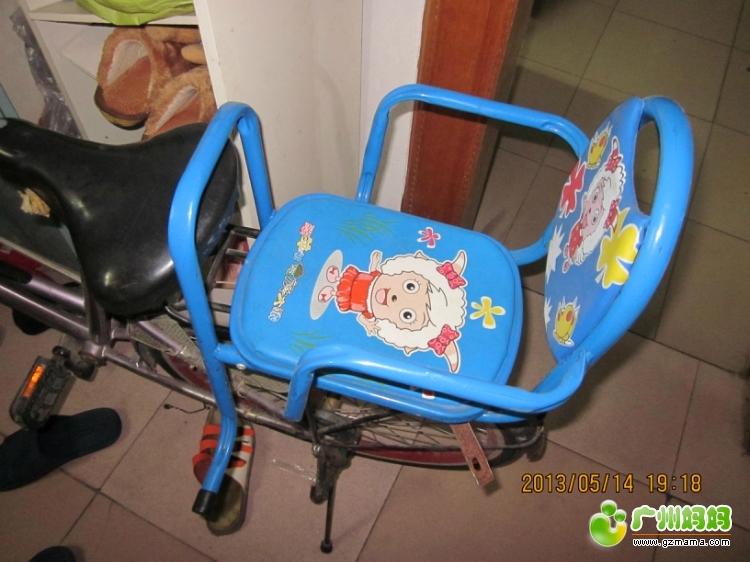转16寸可折叠自行车,及单车儿童座椅