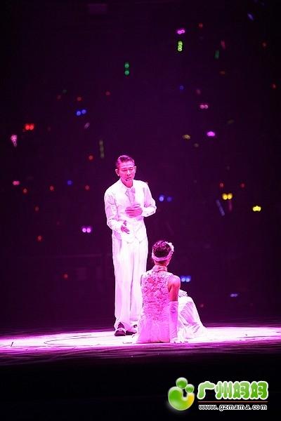 13刘德华广州演唱会,买了土豪位,第一排正中间,献上大片