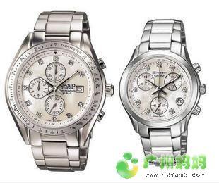 CASIO尊贵高雅情侣对表EF-530P-7A+SHN-5003PS-7A   心动价:699
