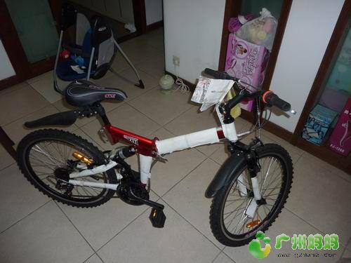 转让全新折叠变速自行车