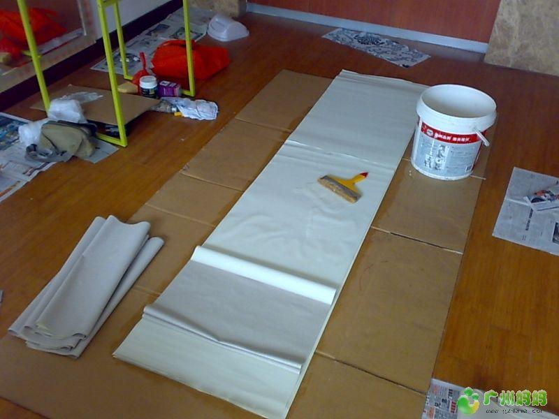 我的装修日记之扇灰油漆贴墙纸 装修家居 广州妈妈论坛