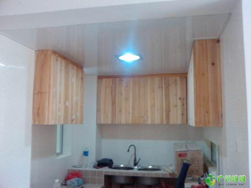 我的原生态厨房 砖砌台面 杉木吊柜 自制抽油烟机 装修家居 广州妈妈论