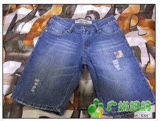 26码灰鼠中牛仔裤,很有特色 -旧帖翻新,清牛仔裤 休闲裤 短裤