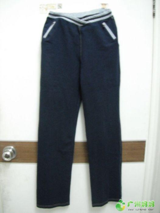 运动裤,远看象牛仔,显得腿又直又长,已赠 -已赠 免费送