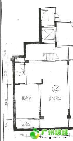 地下室平面图:-今日14 30第六期线上户型解析会 顶鼎装饰资深设计图片