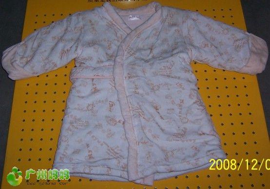 羊娃剪绒睡袍,24码,很暖和, -闲置1岁 2.5岁男童衣服 已转让