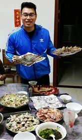 吃撑 自家制超笋价海鲜大餐