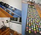 家里的炫酷健身房